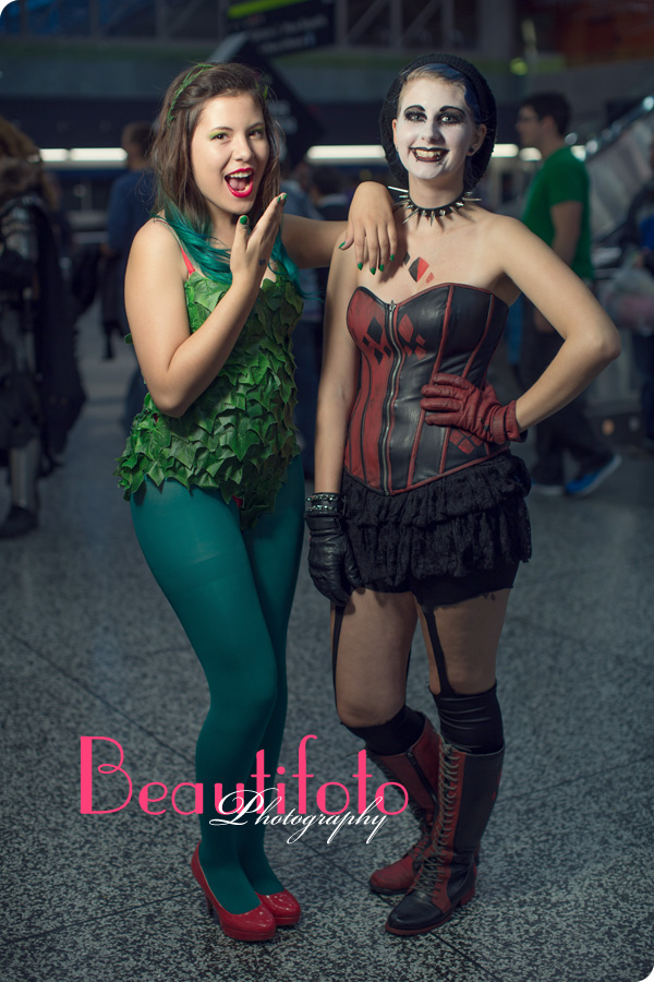 Cosplay characters from the Montreal Comiccon 2013 at Palais des congrès