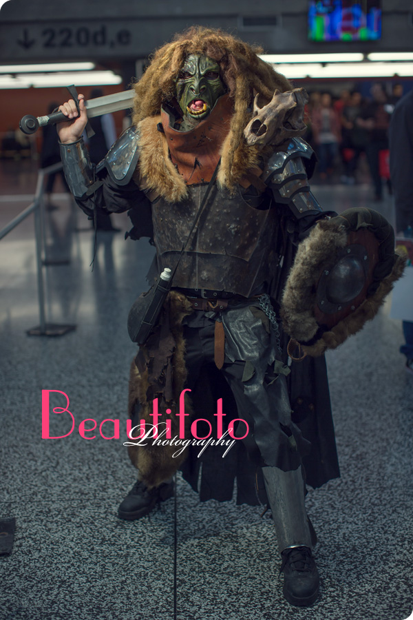 Cosplay humanoid at the Montreal comiccon 2013