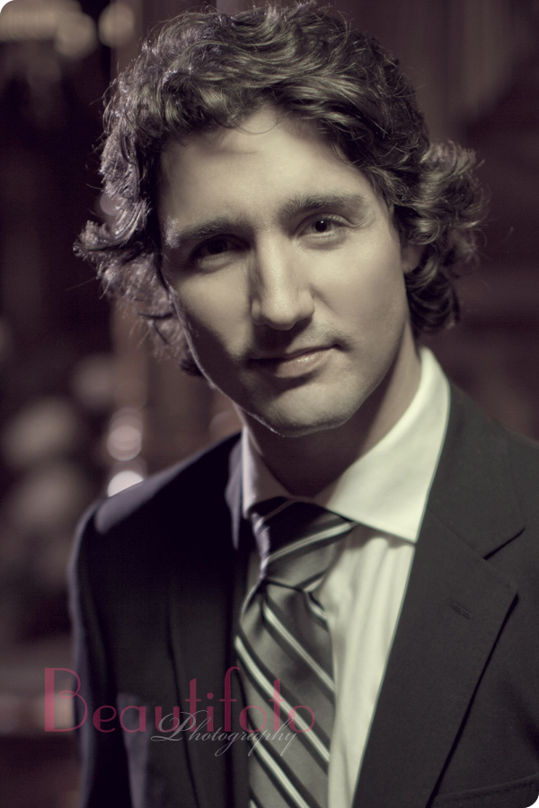 Justine Trudeau, a portrait of the prime minister of Cananda